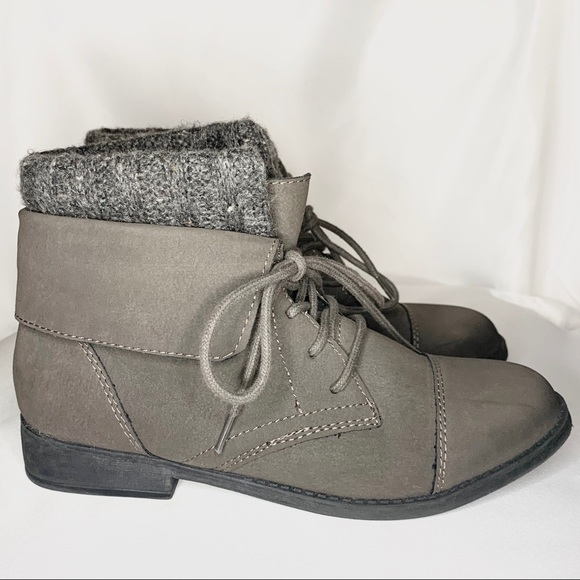 Madden Girl Shoes | Gray Ruxben Ankle